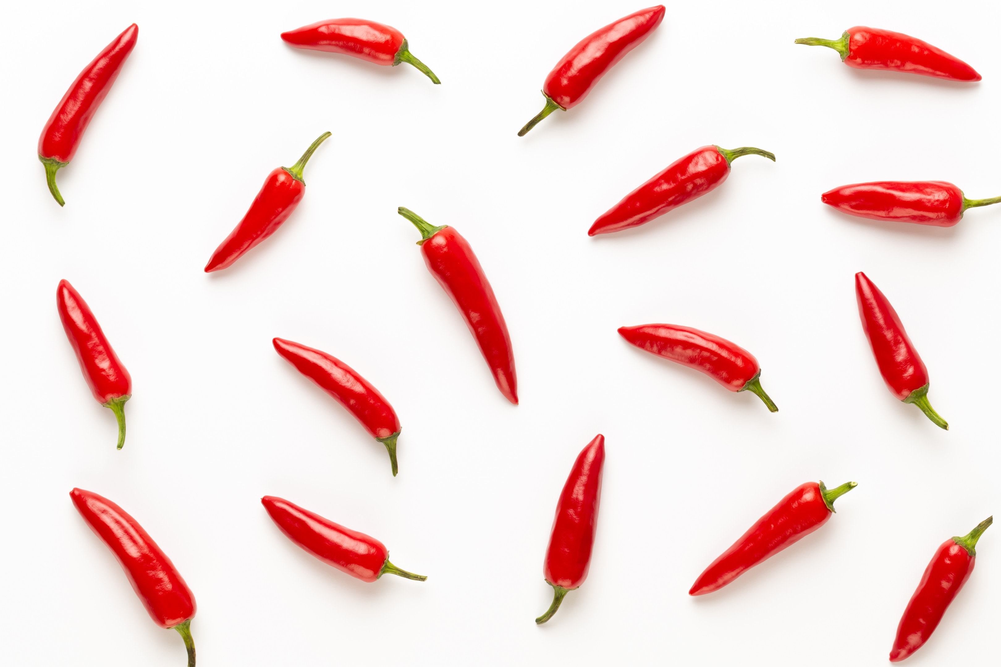 Cayenne pepper chilli isolated