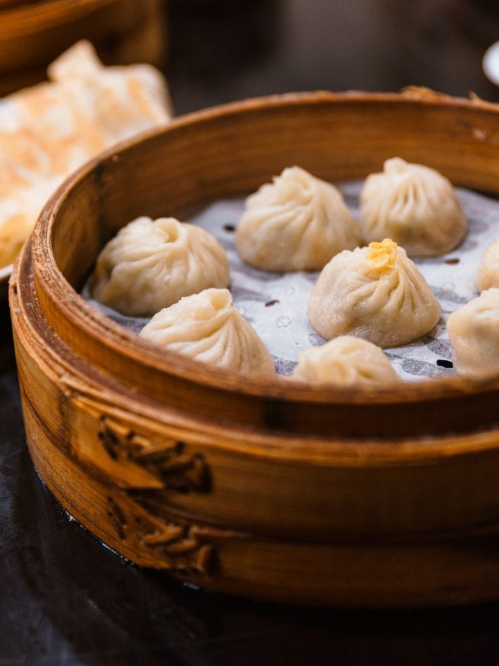 Xiaolongbao chinese steamed bun