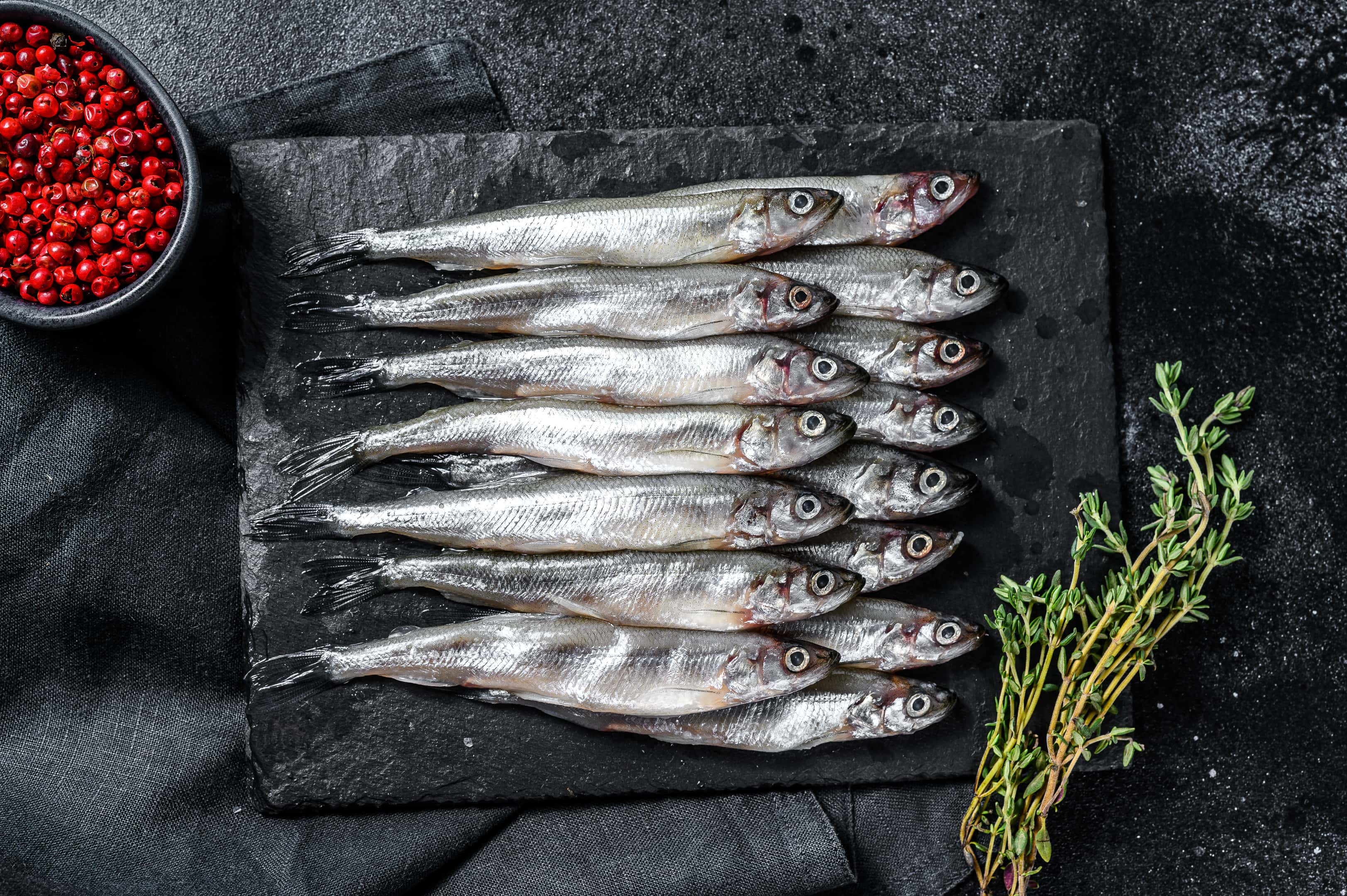 Xouba small sardine fish