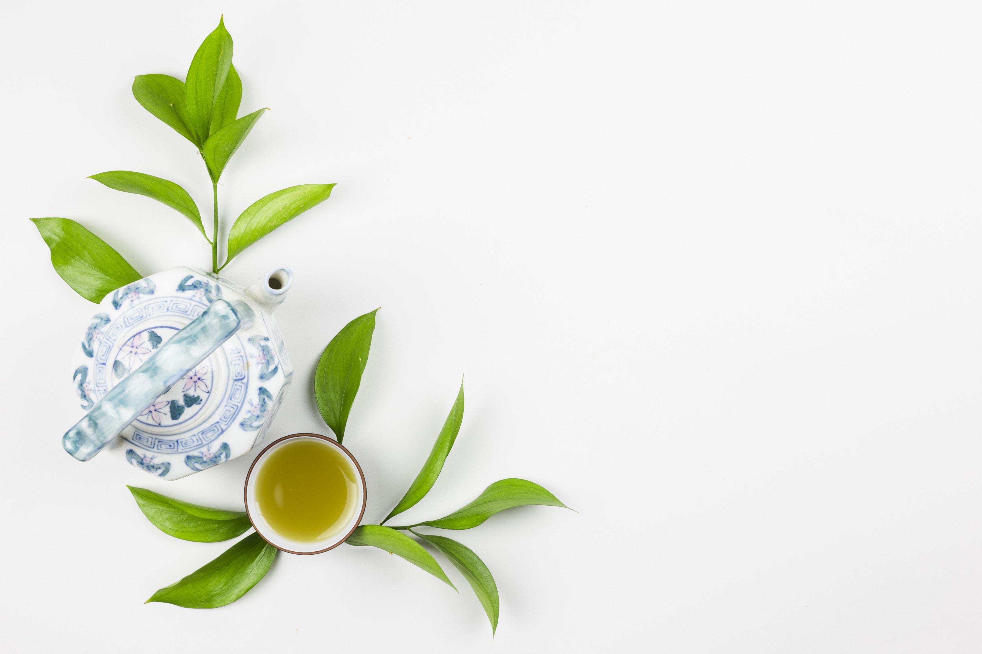 Matcha Green Tea Preparation