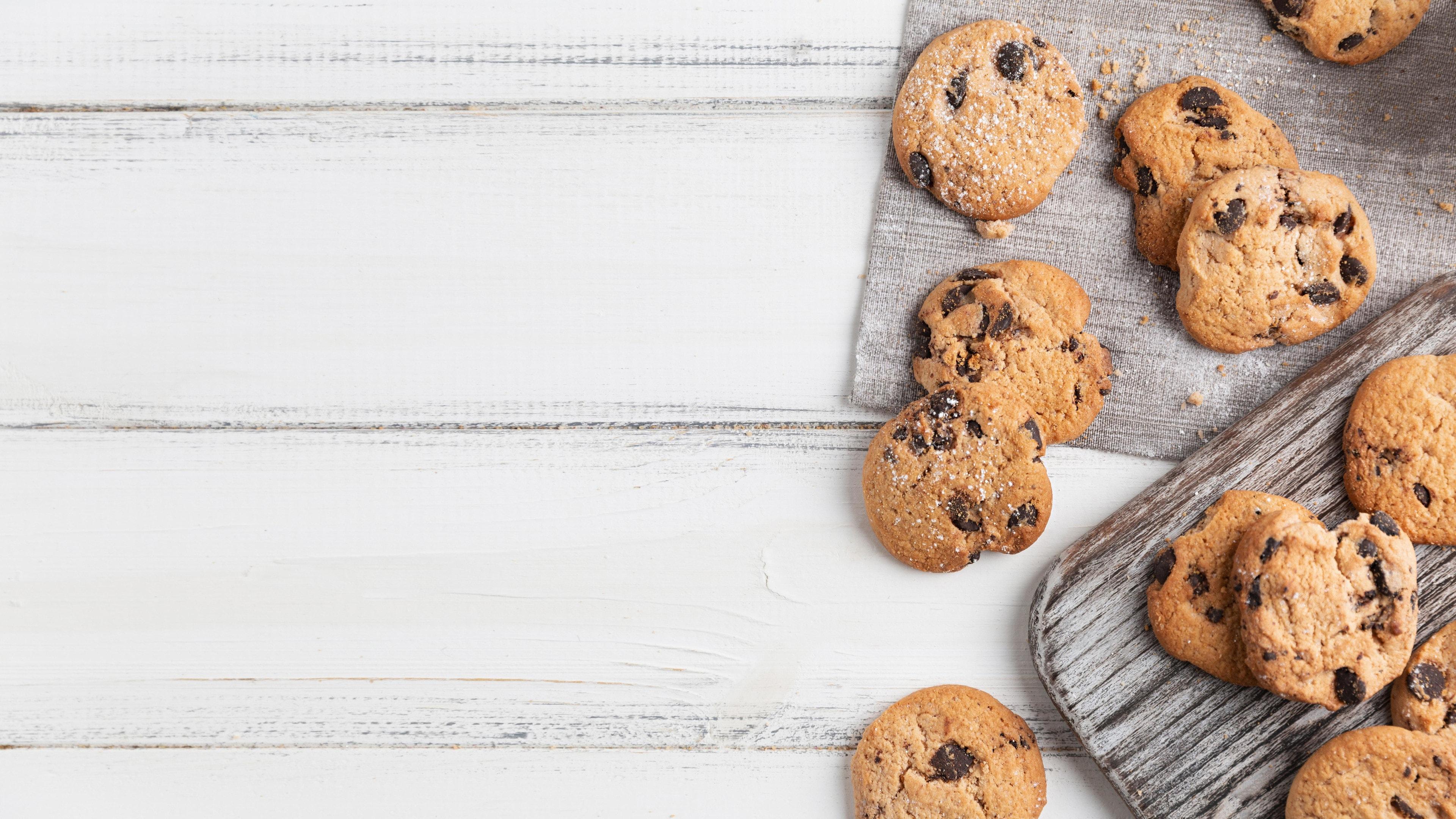 Cricket flour chocolate chip cookies