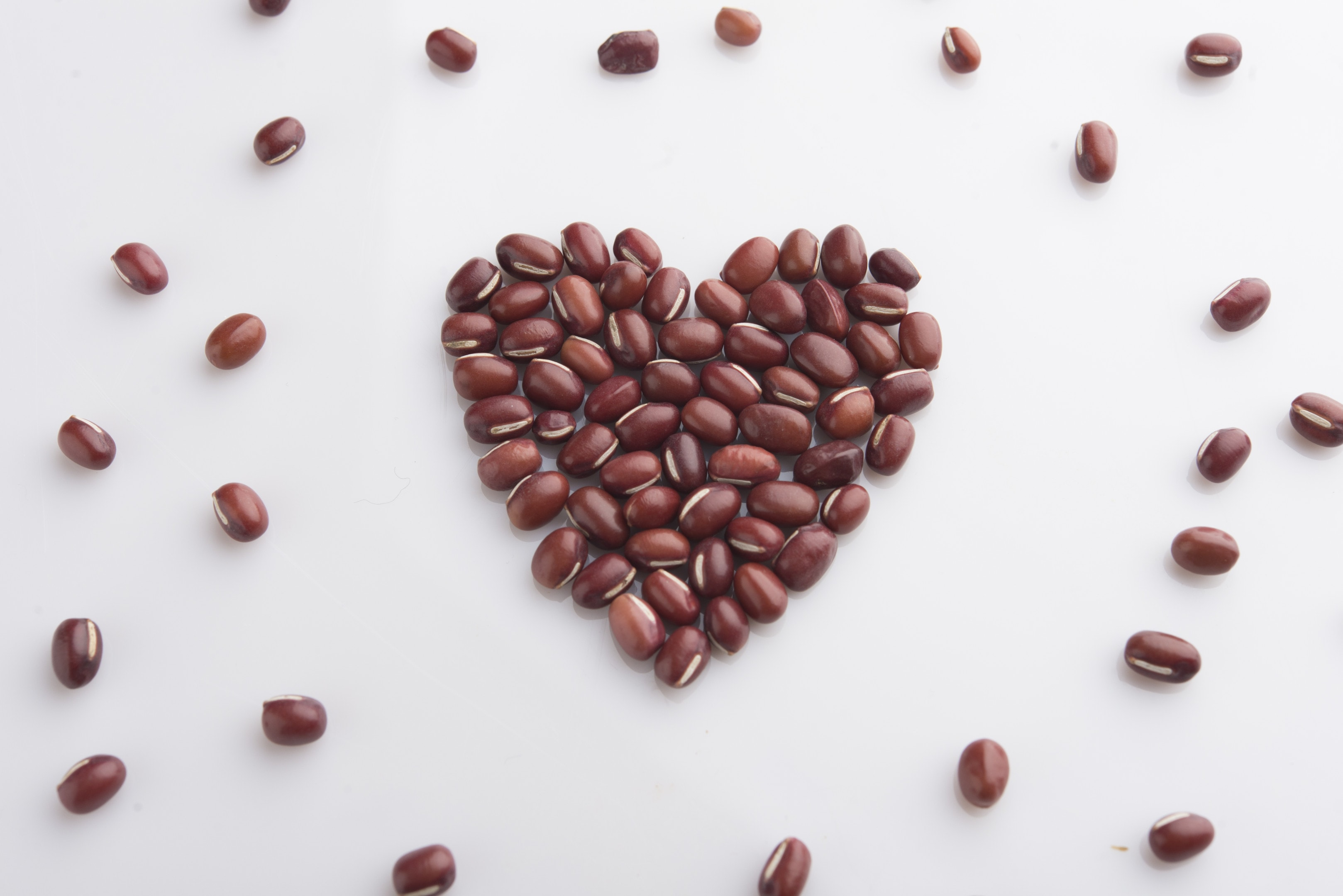 Adzuki beans heart assortment