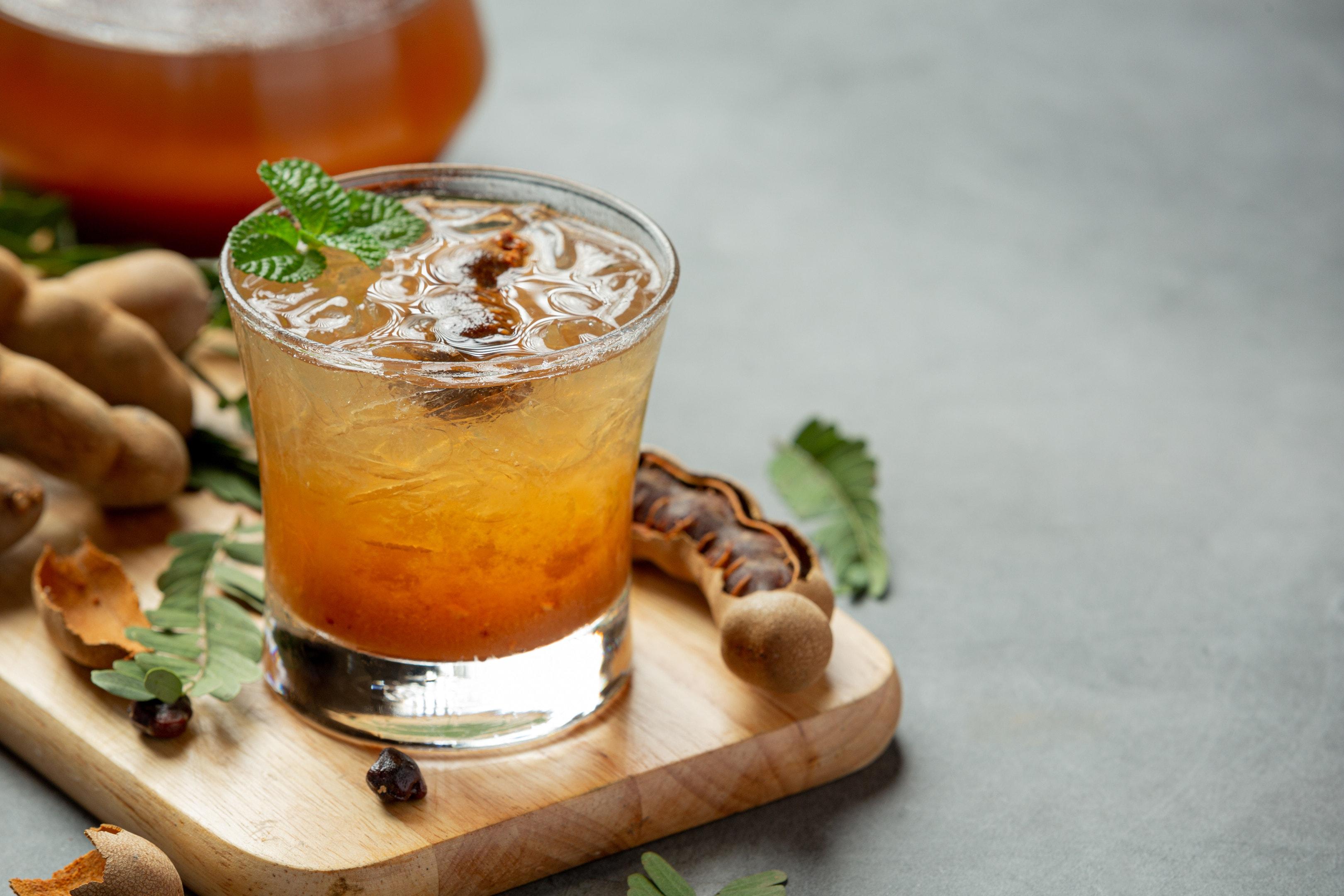 Delicious sweet tamarind drink