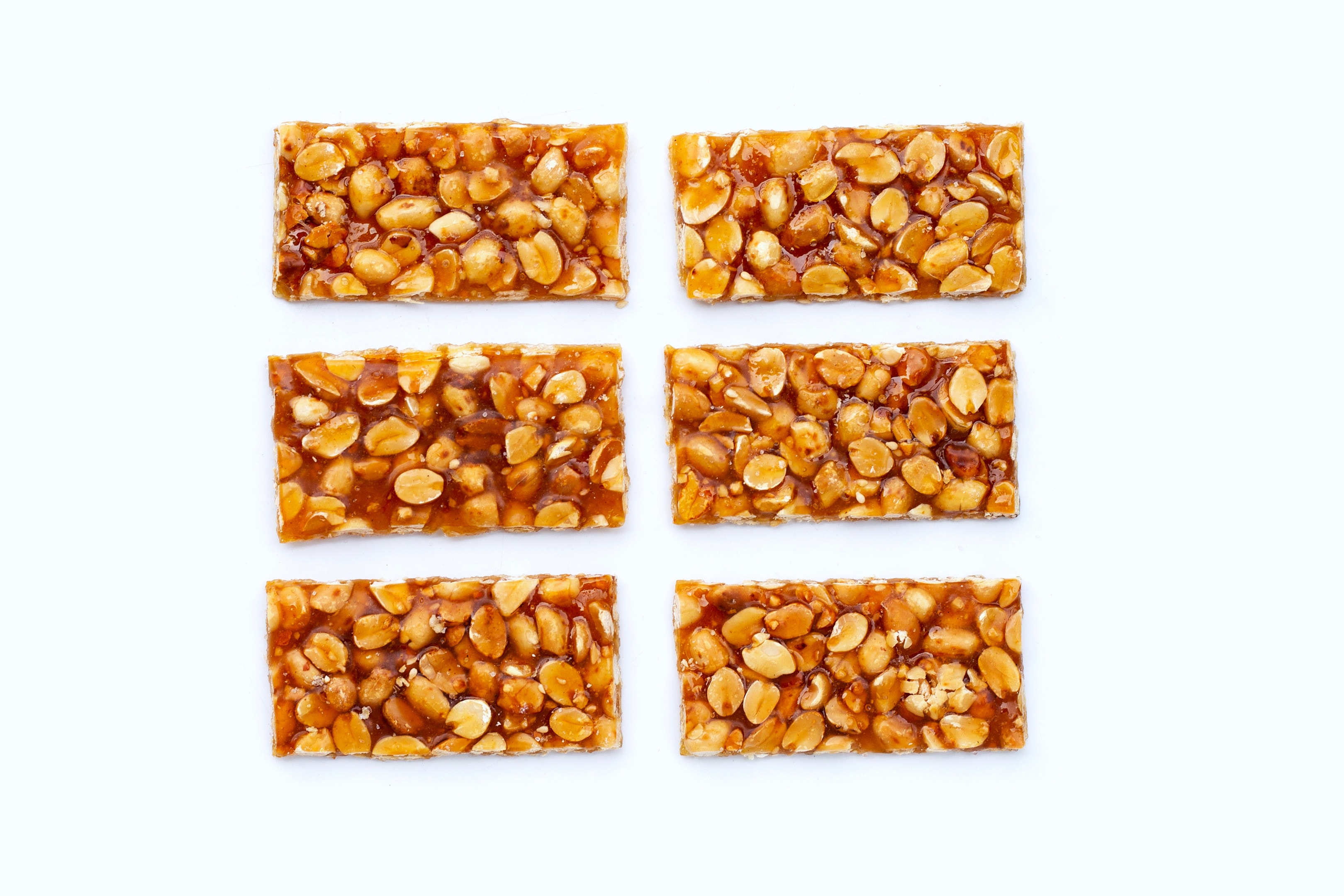 Kadalai mittai — peanuts and jaggery bars
