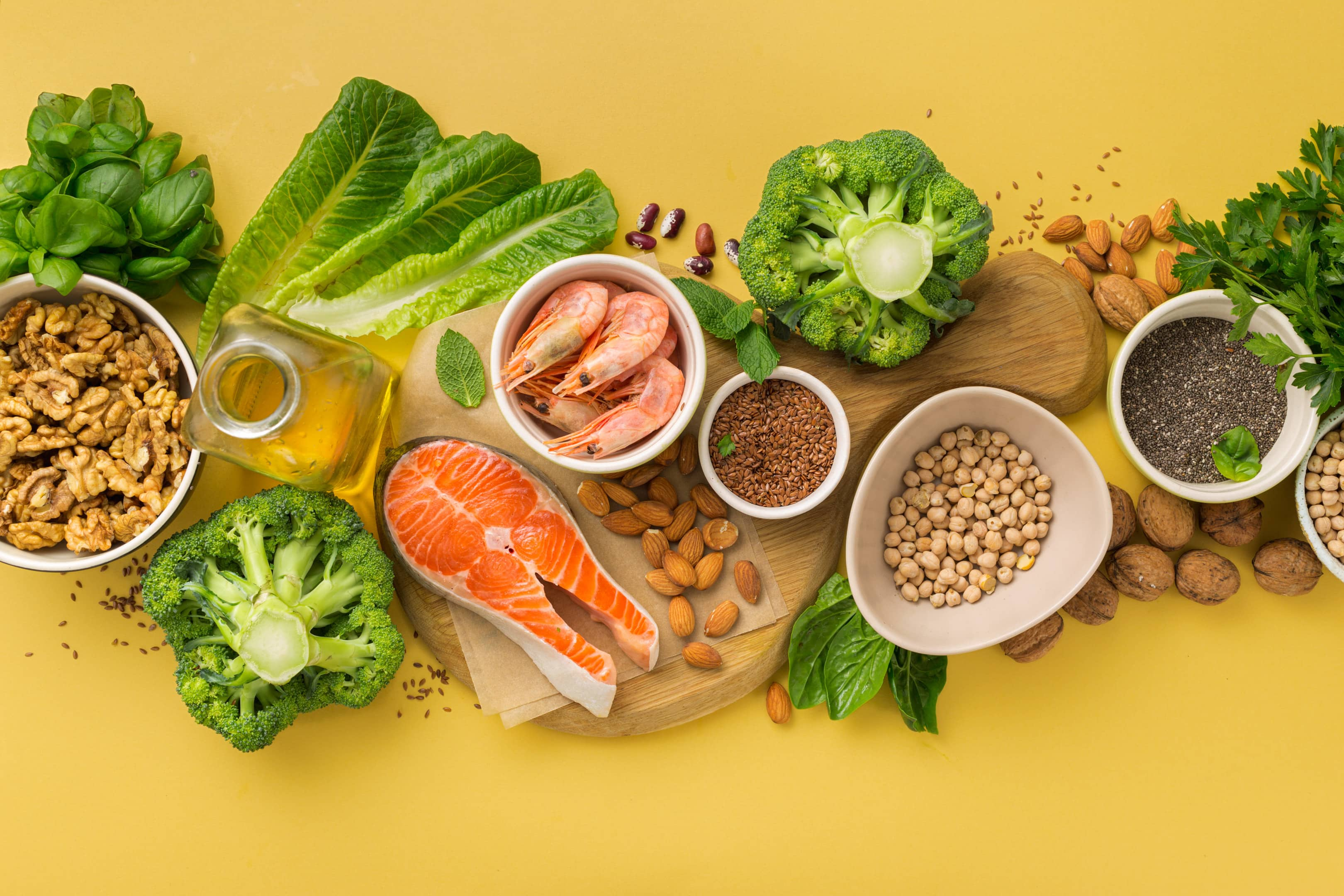 Omega-3 food sources that are high in fatty acids